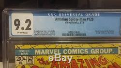 The Amazing Spider-Man #129 (Feb 1974, Marvel) CGC 9.2! Huge Key! 1st Punisher