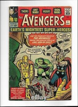 The Avengers Comic Book Lot 1-100 SILVER AGE RARE AMAZING