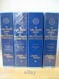 The Carl Barks Library Walt Disney's Hardcovers VOLUMES 1 THRU 4, 12 BOOKS