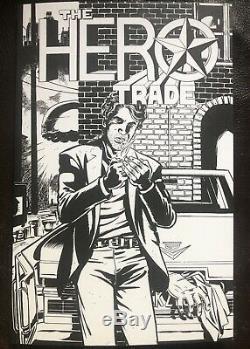 The Hero Trade Comic Secret Bad Idea B & W Comic Book