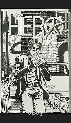 The Hero Trade Comic Secret Bad Idea B & W Comic Book. Help Us Help Comic Shops