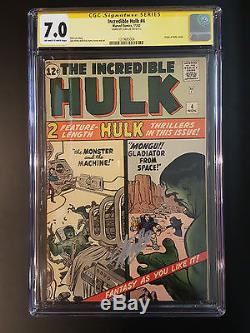 The Incredible Hulk # 1-6 Cgc Ss Lee 1st Hulk L@@k @ It! Run Avengers Iron Man