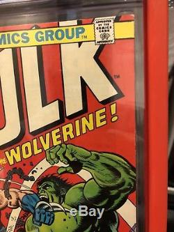 The Incredible Hulk 181 CGC 8.5 WHITE Pages (rare) not PGX or CBCS