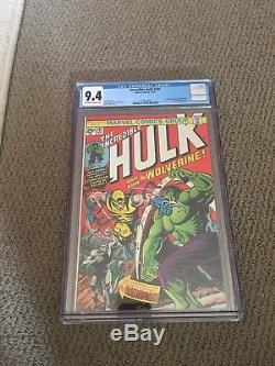 The Incredible Hulk #181 CGC 9.4 (Nov 1974, Marvel)