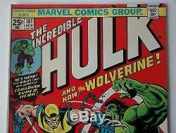 The Incredible Hulk #181 High Grade Marvel Bronze Comic Book MVS Intact