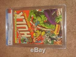 The Incredible Hulk #181 Marvel CGC 9.0 White pages1st full Wolverine No Reserve