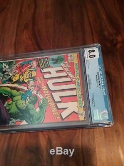 The Incredible Hulk #181 (Nov 1974, Marvel) 1st Wolverine CGC 8.0 Universal