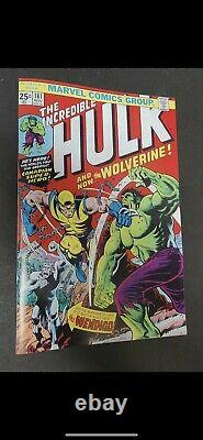 The Incredible Hulk #181 (Nov 1974, Marvel) original comic book OG
