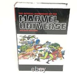 The Official Handbook of The Marvel Universe Deluxe Omnibus NEW Sealed HC $150