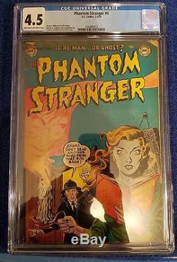 The Phantom Stranger #4 CGC 4.5