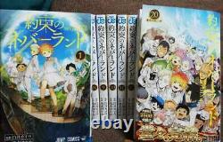 The Promised Neverland vol. 1-20 Complete set Comics Manga