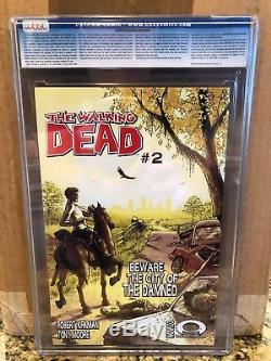 The Walking Dead #1 cgc 9.8 2003 Mature, Rick, Carl Super Key 2, 19 Black 1