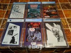 The Walking Dead 6 Book CGC(5) / PGX(1) 10,19,27,53,100,108 ALL 1st APP 9.6/9.8