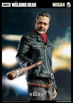 Threezero The Walking Dead Negan 1/6 Action Figure Jeffrey Dean Morgan 30cm