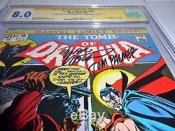 Tomb of Dracula #10 CGC SS Dual Signature Autograph MARV WOLFMAN & TOM PALMER