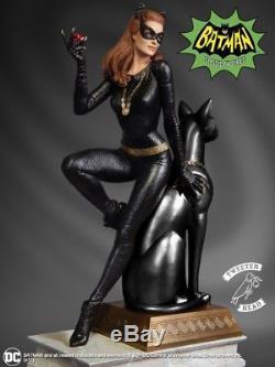 Tweeterhead Batman 1966 Catwoman Maquette Diorama Ruby Edition Statue Mib