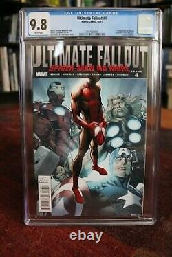 Ultimate Fallout #4 1st Print CGC 9.8 1st Appearance Miles Morales Spider-Man NM