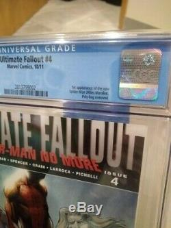 Ultimate Fallout 4 1st first print cgc 9.8 Miles Morales Spiderman Comic Book