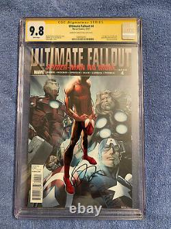 Ultimate Fallout 4 CGC 9.8 signed Sara Pichelli 1st Print Miles Morales HOT BOOK