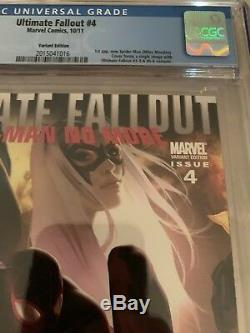 Ultimate Fallout 4 Djurdjevic Variant Cover CGC 9.8 1st App Of Miles Morales