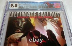 Ultimate Fallout #4 Variant Edition CGC Universal Grade Comic Book 9.8 1st Miles