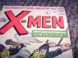 Uncanny X-Men (1963) 1 1st Magneto 1st Print