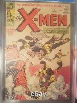 Uncanny X-Men (1st Series) #1 1963 CGC 3.5 Universal. Jack Kirby Art
