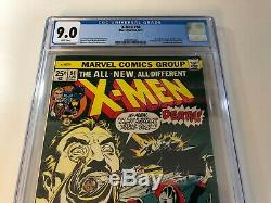 Uncanny X-Men #94 comic book CGC 9.0