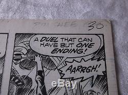 Uncanny X-Men No. 103 Original Comic Book Page Art by Dave Cockrum Juggernaut