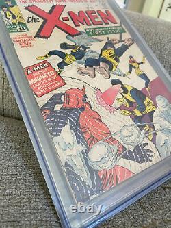 Uncanny X-men #1 CGC 5.5 Silver Age 1963 Key Grail Comic Book