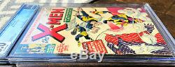 Uncanny X-men #1 CGC 6.0 Silver Age September 1963 Key Grail Comic Book OW