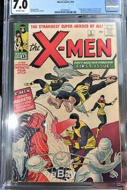 Uncanny X-men #1 CGC 7.0 Silver Age September 1963 Key Grail Comic Book OW