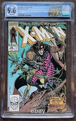 Uncanny X-men #266 Cgc 9.6 1st Full Appearance Of Gambit