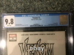 VENOM #3 CGC 9.8 Venom Label First Full Appearance KNULL Cates Key Book