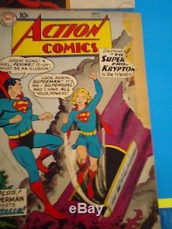 Vintage 1640 Comic Books, Superman, Batman, Spiderman, Hulk, & More Collection