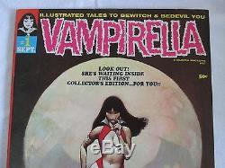Vampirella #1 Sept. 1969 (Original) Comic Book Warren (Very FINE) See Photos