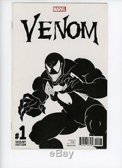 Venom #1 Sketch Variant Marvel Comic Todd McFarlane One Per Store