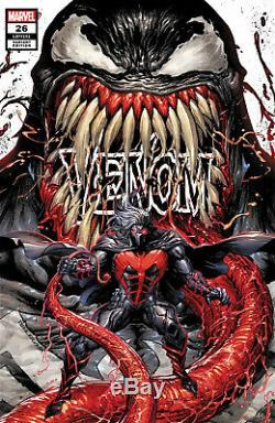 Venom #26 (tyler Kirkham Secret Trade Exclusive Variant) Comic Book Pre-sale