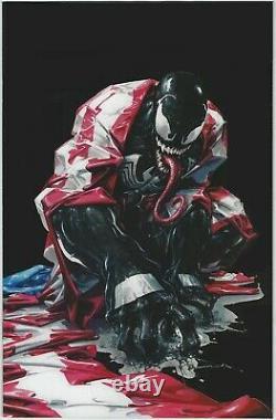 Venom 27 2020 Clayton Crain Secret C Dark Black Carnage USA Homage Variant Nm