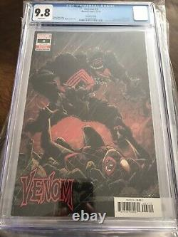 Venom #3 2nd Print Variant CGC 9.8 1st Knull Hot Book Gorgeous New Case