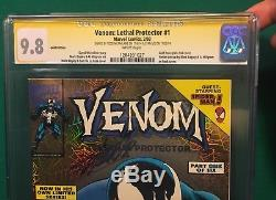 Venom Lethal Protector #1 Gold Variant CGC 9.8 signed by Todd McFarlane Stan Lee