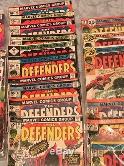 Vintage marvel comic books