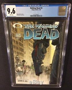 WALKING DEAD #1 2 3 4 5 6 Comic Books ALL CGC GRADED 9.6 NM+ 1st Prints +Promos