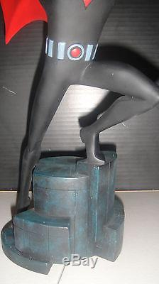 WARNER BROS BATMAN BEYONDANIMATED MAQUETTE Statue #705 withCOA & BOX DC Direct