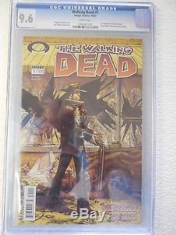 Walking Dead #1 CGC 9.6 NM