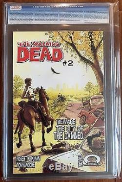 Walking Dead #1 CGC 9.8 BLACK LABEL Super Rare 3 DAY Auction