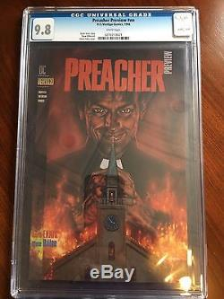 Walking Dead #1 CGC 9.9 AND Preacher #1 CGC 9.8 AND Preacher Preview CGC 9.8 WOW