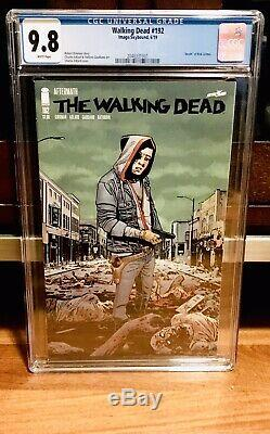 Walking Dead #192 Cgc 9.8 First Print Rick Grimes Death Image Nm Hot Like 191