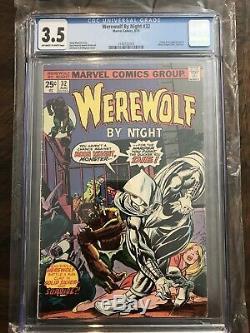 Werewolf By Night #32 CGC 3.5 1st Moon Knight Hot Book