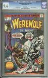 Werewolf By Night #32 Cgc 9.6 White Pages